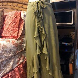 Free people pant/wrap skirt